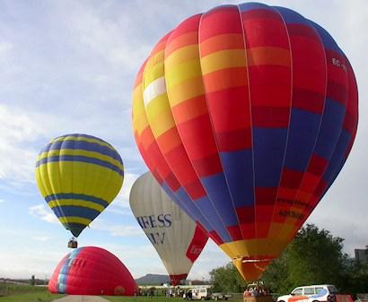montgolfiere baie du mont saint michel